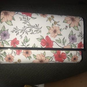 Floral RFID Blocking wallet